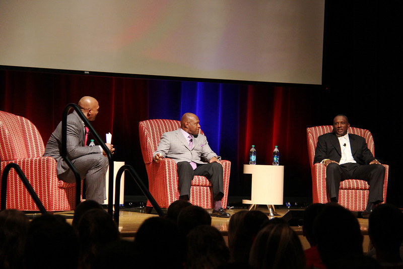 2013 Heisman Winners Eddie George, Archie Griffin, and Tim Brown Student Life of Excellence
