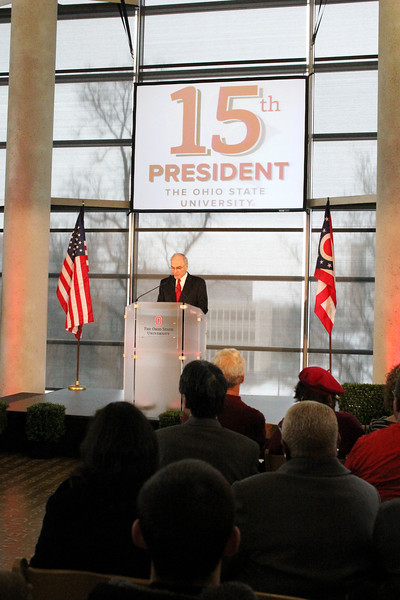 2014 15th President Welcome at Thompson Library