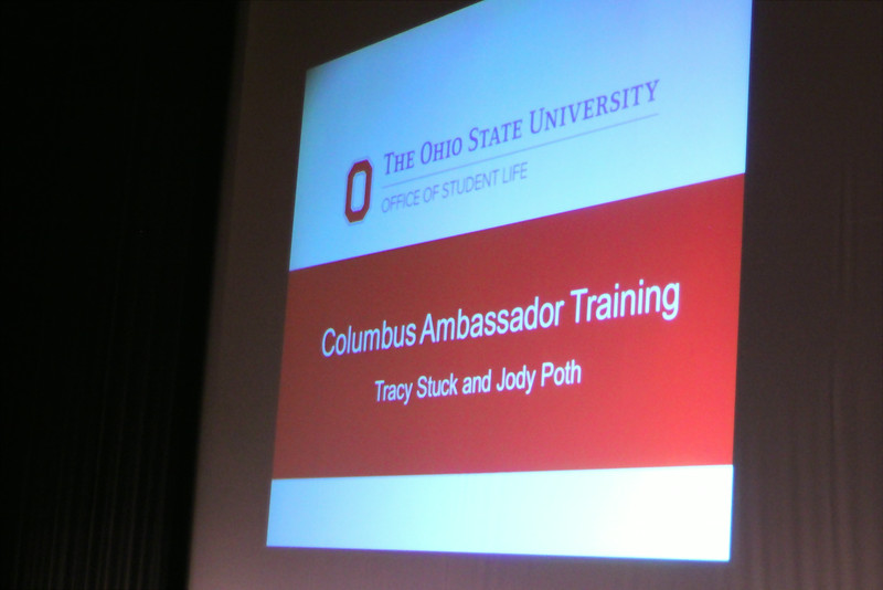 2014 Columbus Ambassador RA Training