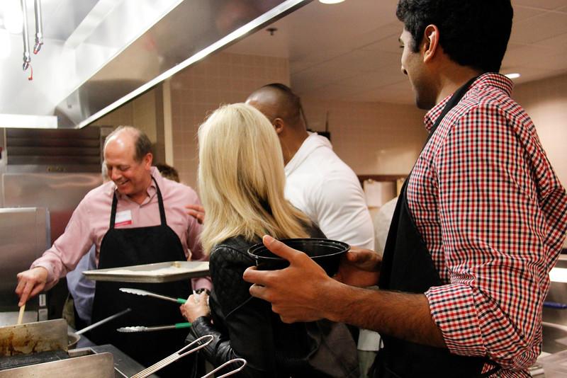 2015 Eddie George - Instructional Kitchen Event