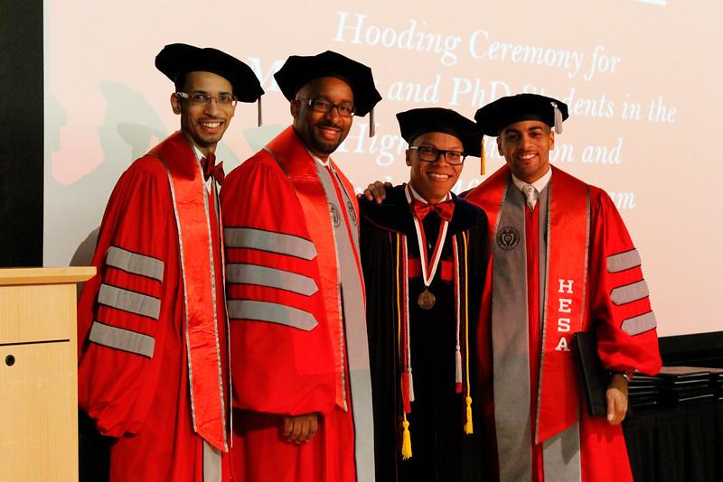 2015 HESPA Hooding Ceremony