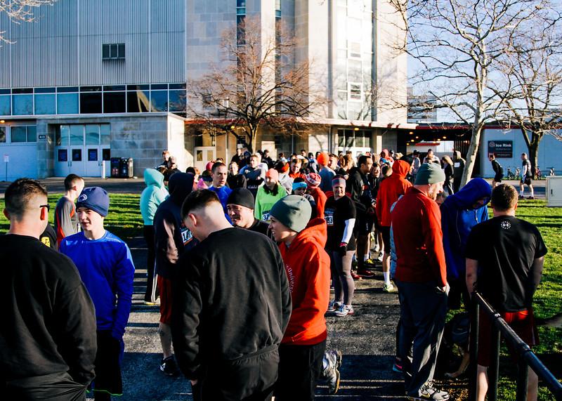 2015 Run Down the Demons 5K run/obstacle