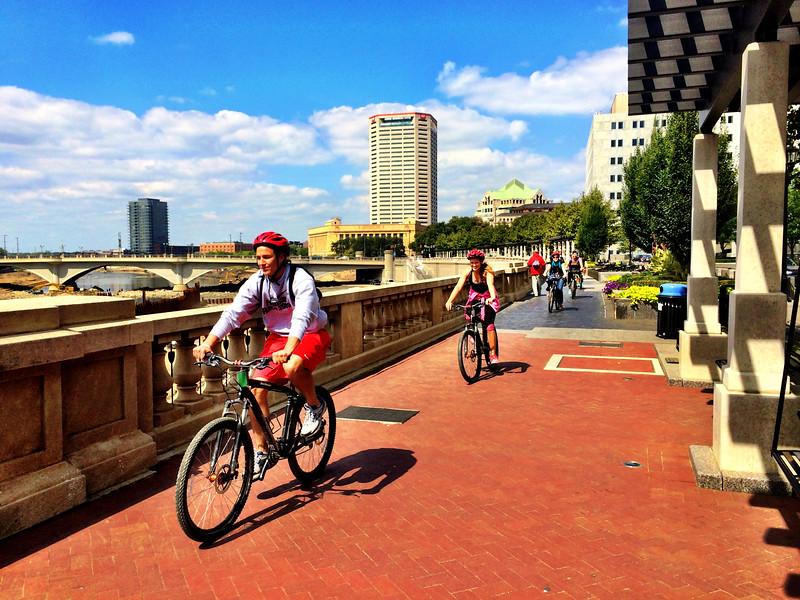 2014 SL Grad Pad Bike Ride