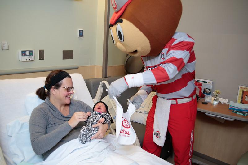 2015 Brutus 50th at Wexner Medical Center Nursery