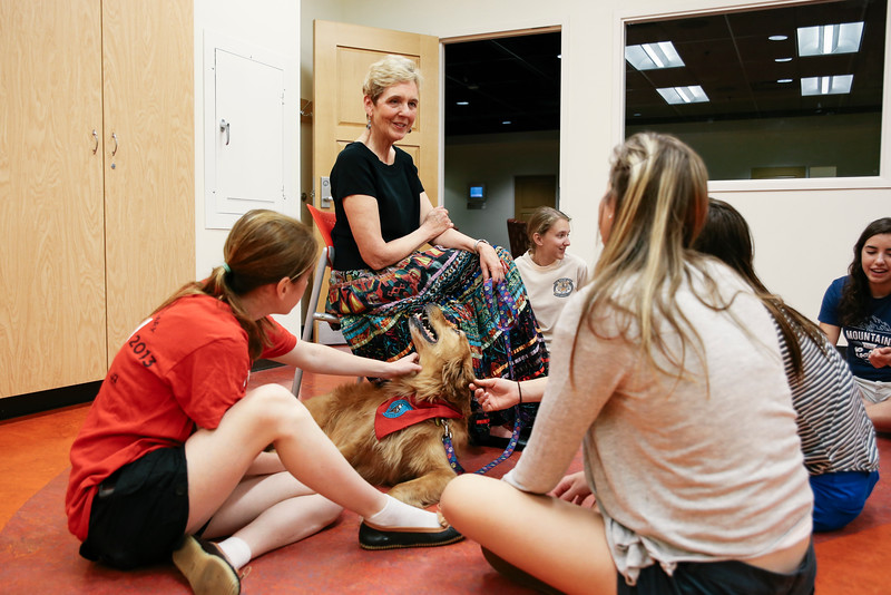 2016 Spring Reading Day Pause for Paws