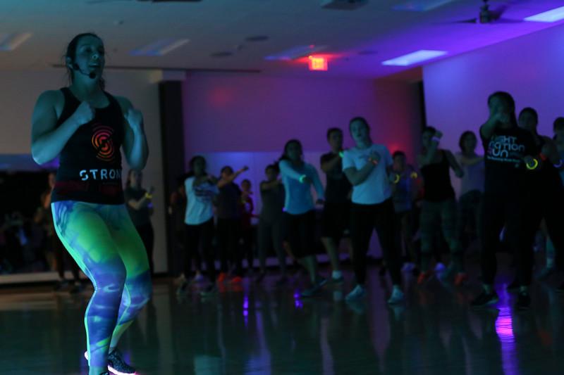 2017 Glow STRONG Zumba Class