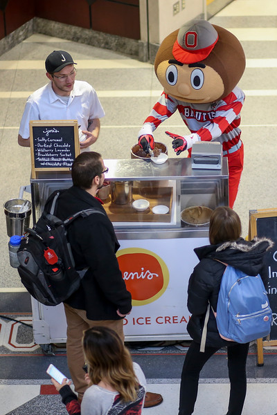 2017 Jeni's Ice Cream Sampling
