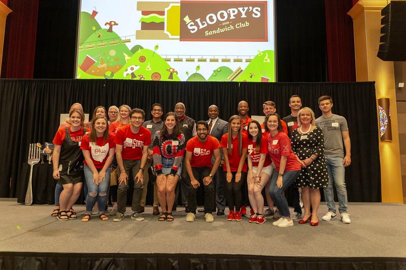 2019 Sloopy's Sandwich Club Ceremony