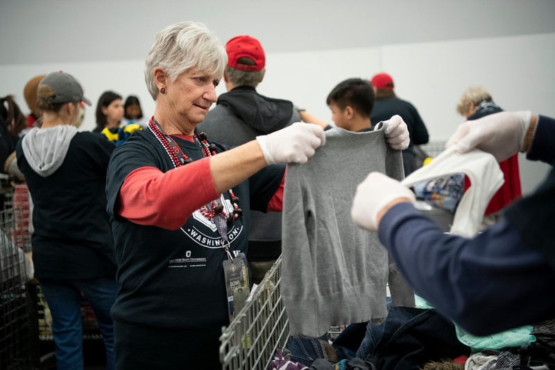 2018 Rose Bowl Service Project