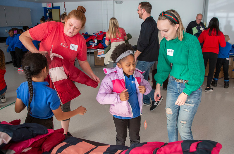 2019 Operation Warm Coat Distribution Event