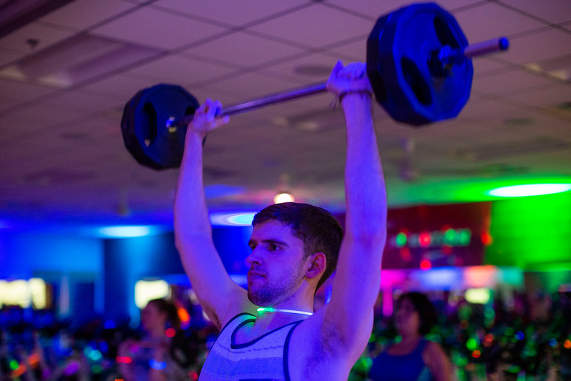 2019 Reading Day Black Light Barbell