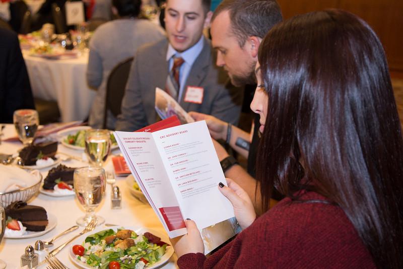 2016 Autumn CRC Graduation Dinner