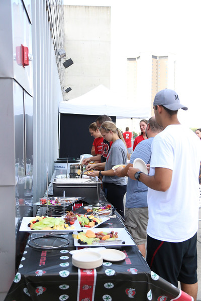 2016 Scarlet, Gray, and Sober Tailgate 1