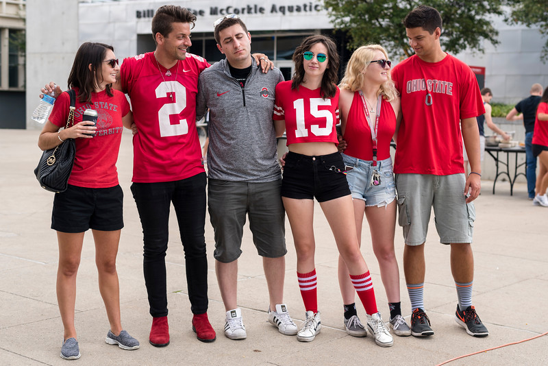 2017 Sept 16 Scarlet, Gray and Sober Tailgate