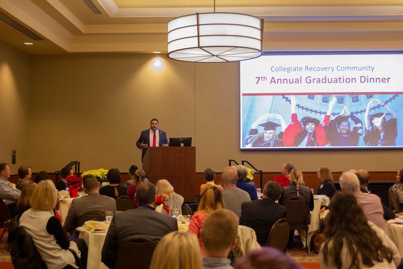 2019 Autumn Student Wellness Center Graduation Dinner
