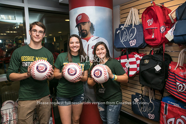 George Mason Day at Nationals Park