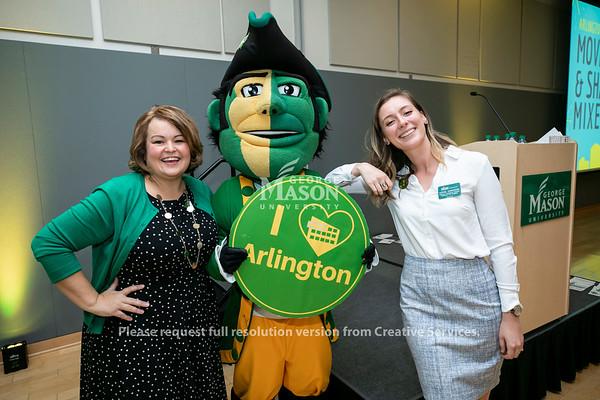 Arlington Mason Movers & Shakers Mixer.  Photo by:  Ron Aira/Creative Services/George Mason University