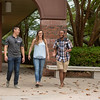 University of West Florida students roam the scenic grounds of UWF on Friday, April 13, 2018.