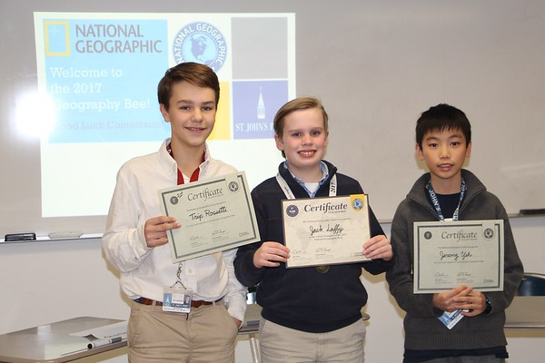 2nd Annual Nat Geo Geography Bee!