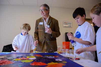 Artist Steve Penley Visit