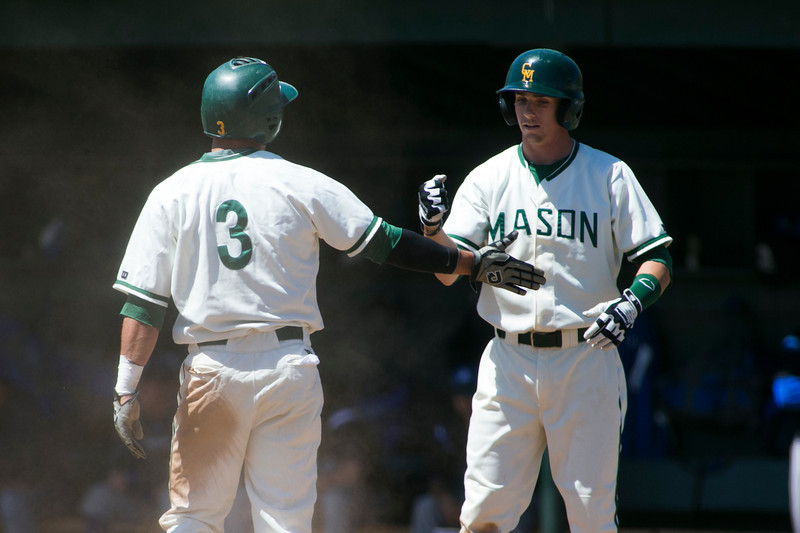 George Mason Baseball team plays Saint Louis University. Photo by Craig Bisacre/Creative Services/George Mason University