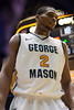 George Mason Patriots forward Johnny Williams (2) waits for the inbound pass in the second half by the James Madison Dukes at the Patriot Center on Tuesday, January 15, 2013. Photo by Craig Bisacre/Creative Services/George Mason University
