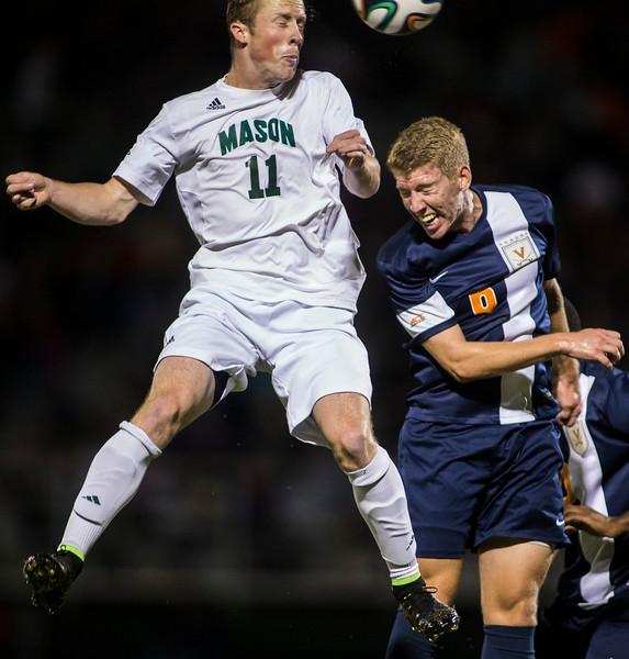 Soccer game versus UVA