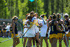 George Mason Woman's Lacrosse team plays host to La Salle University. Photo by Craig Bisacre/Creative Services/George Mason University