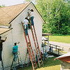 Serving the dear neighbor in West Virgina by painting their home.