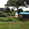 A view of the Mukeu School in rural Kenya.
