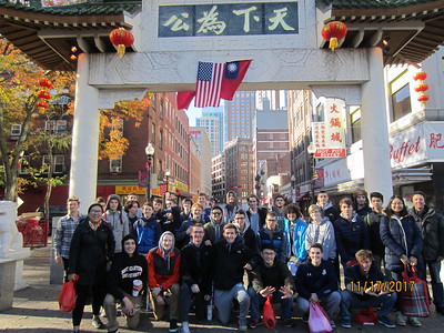 Chinatown with the Asian Cultural Club!