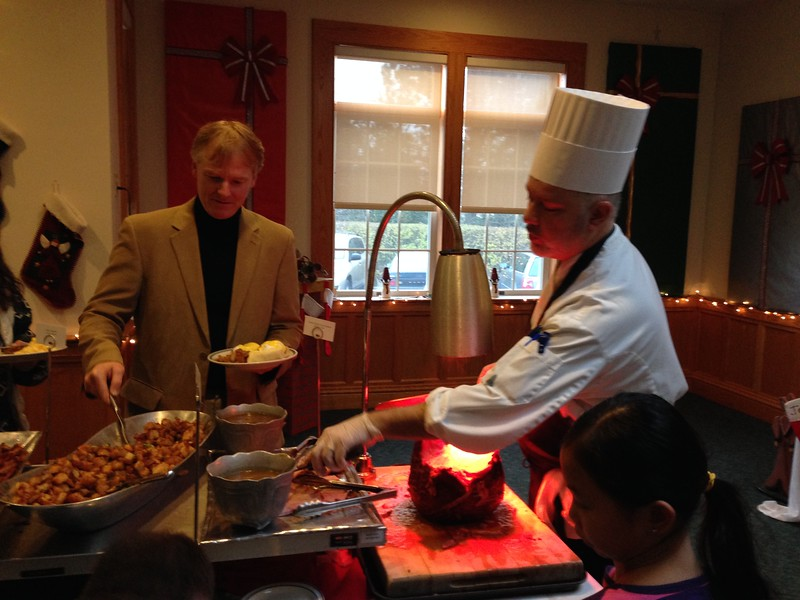 Chef Andrew loves Christmas Breakfast, and so do we!