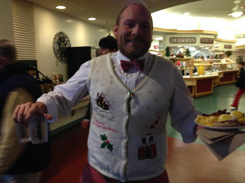 Mr. Bozzi takes the prize!
