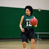 Vice President Naomi Gregory (Sophmore) of the George Mason women's basketball club practices.  Bonnie Bishop worked with Mason Recreation to get a team together when she transferred here and found no outlet for her love of basketball.  Photo by Craig Bisacre/Creative Services/George Mason University