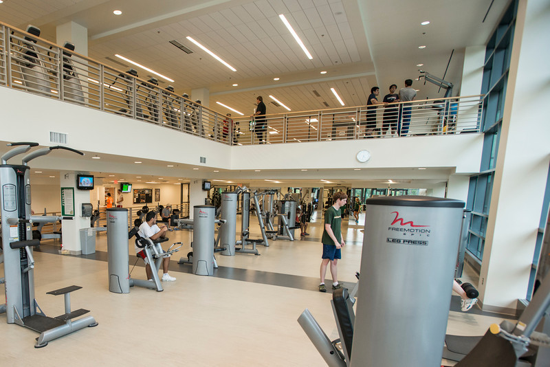 Recreation and Athletic Complex at Fairfax Campus. Photo by Alexis Glenn/Creative Services/George Mason University