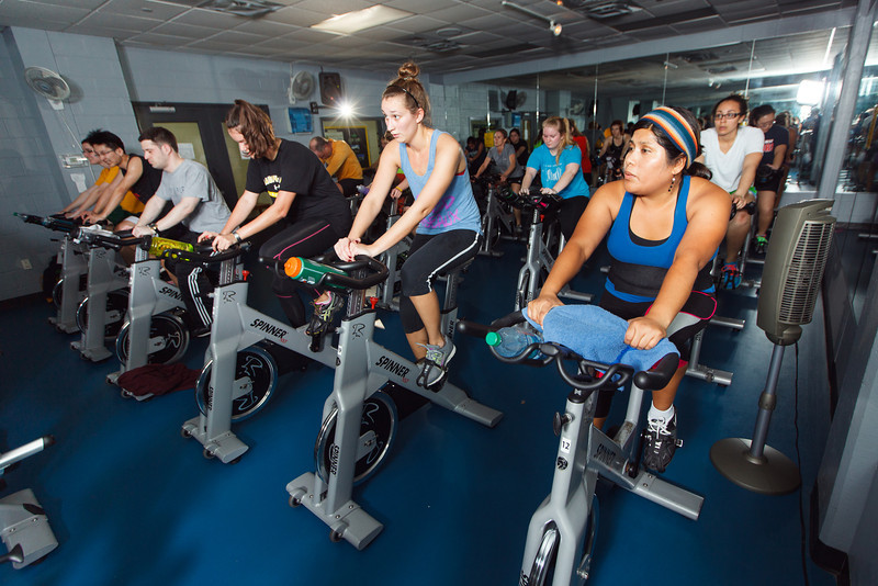 Indoor Cycling Group Exercise