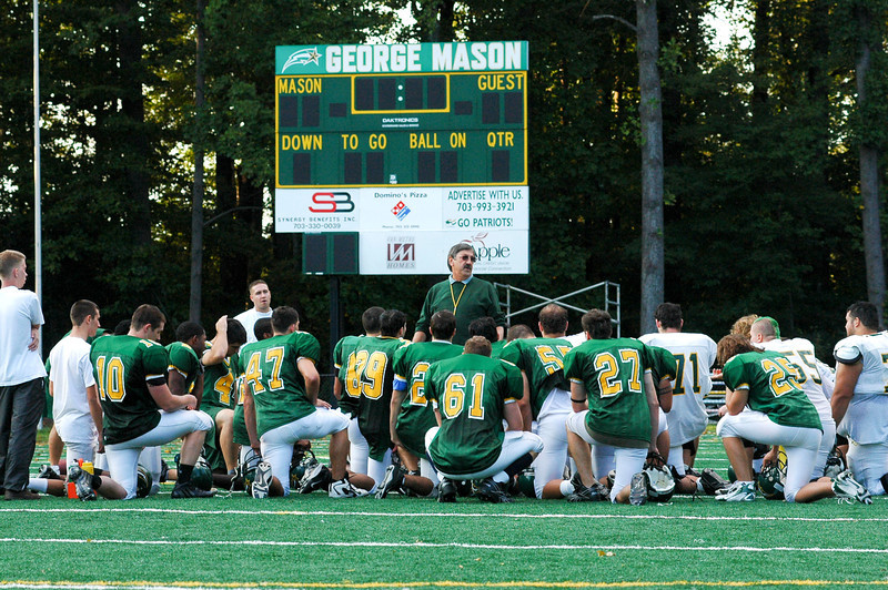 The George Mason University Football program has existed since 1993 and is a member of the Sea Board Conference and the National Club Football Association, Mid-Atlantic Conference.