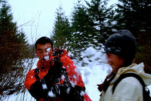 2014-15 Outdoor Club Snowshoe Trip