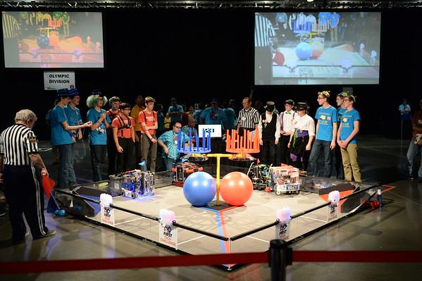 2017 Upper School Robotics at West Super-Regionals
