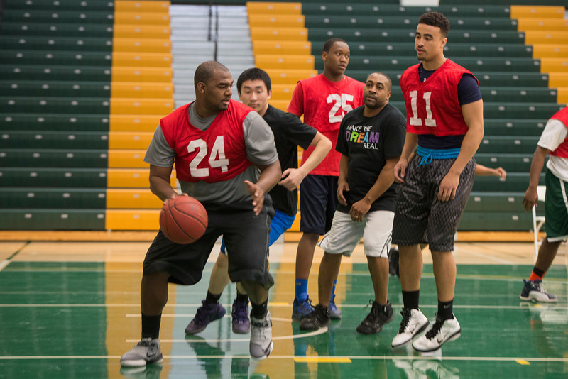 Charity basketball game honoring Martin Luther King Jr. Day
