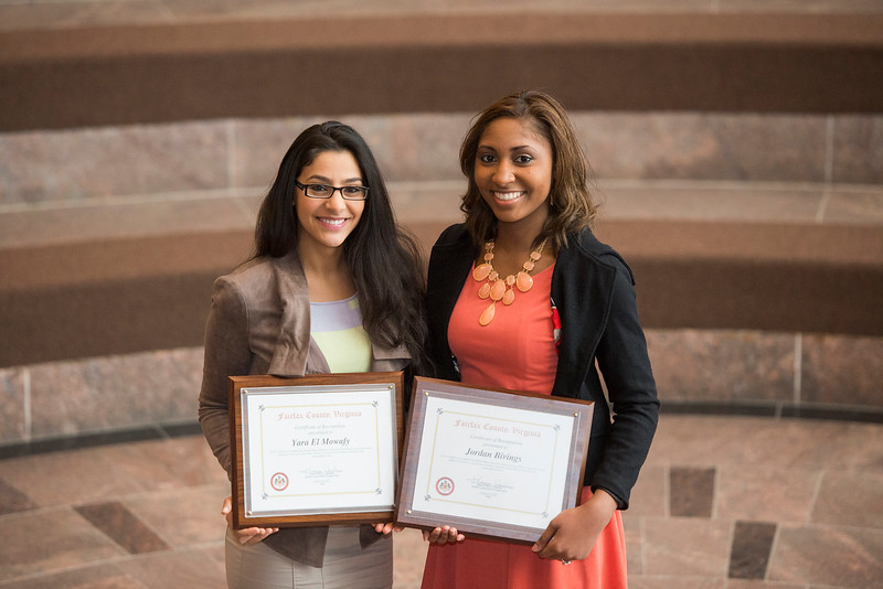 Student Meal Assistance Fund co-founders Yara Mowafy and Jordan Bivings