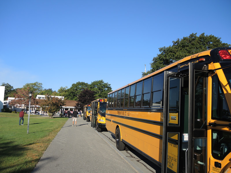 Then we each loaded the bus to our various destinations and headed off!
