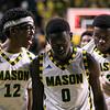 Mason hosted Lafayette before 6,706 raucous members of #MasonNation inside EagleBank Arena.  Photo by:  Ron Aira/Creative Services/George Mason University