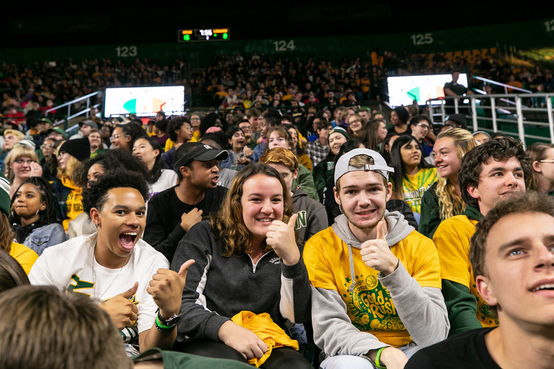 Gold Rush 2019.  Photo by:  Ron Aira/Creative Services/George Mason University