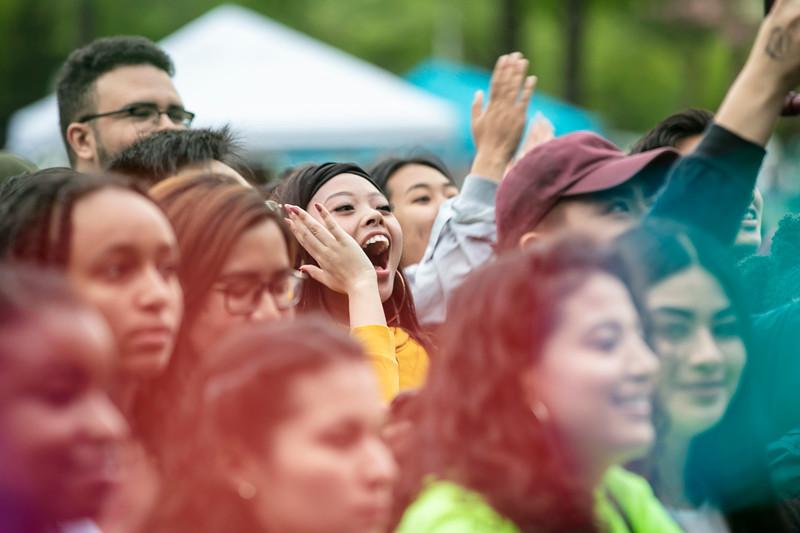 Mason Day 2019 at Fairfax Campus.  Photo by:  Ron Aira/Creative Services/George Mason University
