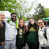 Mason Day 2019 at Fairfax Campus.  Photo by:  Ron Aira/Creative Services/George Mason University
