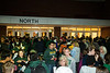 Students and families wait to enter the Patriot Center for Mason Madness. Photo by Alexis Glenn/Creative Services/George Mason University