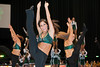 The Masonettes Dance Team performs at Mason Madness at the Patriot Center. Photo by Alexis Glenn/Creative Services/George Mason University