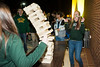 Students play games at the Pre-Mason Madness Celebration outside the Patriot Center. Photo by Alexis Glenn/Creative Services/George Mason University