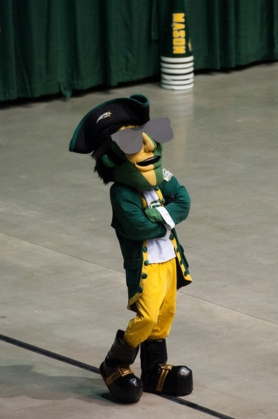 The Patriot at Mason Madness at the Patriot Center. Photo by Alexis Glenn/Creative Services/George Mason University